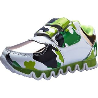 Small Toes Stylish Green Shoes For Boys