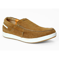 Red Chief Men's Brown Slip On Casual Shoes