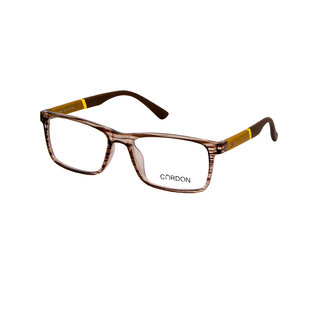 Cardon Brown Full Rim Unisex Rectangular Spectacle Frame