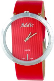Addic Trendy Classy See Through Analog Watch For Women.