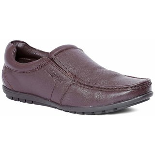 Red Chief Brown Men Slip On Formal Leather Shoes (RC10020 003)