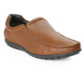 Red Chief Tan Men Slip On Formal Leather Shoes (RC10020 006)