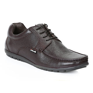 Red Chief Brown Men Derby Formal Leather Shoes (RC10019 003)