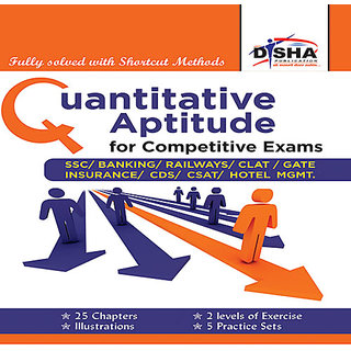 Quantitative Aptitude for Competitive Exams -SSC/Banking/CLAT/Hotel Mgmt./Rlwys/CDS/GATE