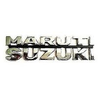 3D Chrome plated Emblem Logo Decal for Car/SUV/Sedan/Hatch for Maruti Suzuki