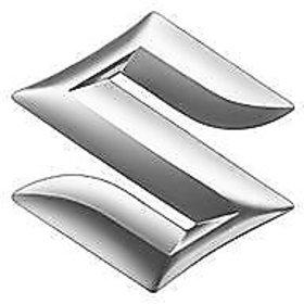 S 3D Car Chrome plated Emblem Logo Decal for Car/SUV/Sedan/Hatch Maruti Suzuki