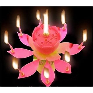 Lotus Music Candle