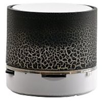 Buddy Jack Series Mini Bluetooth Speaker With USB Port / Memory Card Slot With Disco Lights Awesome Effects-MM-021-BT-BLACK