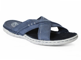 Red Chief Blue Men Casual Leather Slipper (RC781 201)