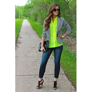 6e4f9bf53c9 Buy Raabta Fashion Black   White Wool Blend Over Coats For Women Online -  Get 23% Off
