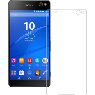Grafins 2.5D Curved Imported Original Tempered Glass Screen Protector For Sony Xperia C5 Ultra