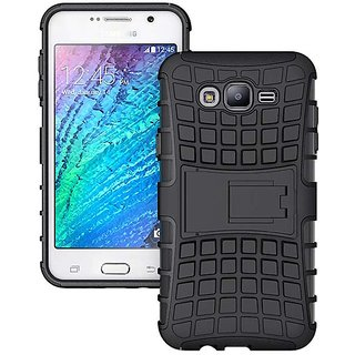 pretty nice dec97 735b4 Tough Hybrid Armor Defender Kickstand Case for Samsung Galaxy J5 Prime
