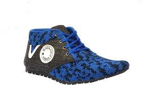 Black Field Goxer Blue Sneakers