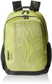 Skybags Green Zip Closure  Backpacks