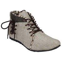 Black Field Moxer Beige Boots