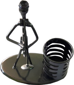 Traditional Handmade Pen Stand Crafted With Auto-Parts