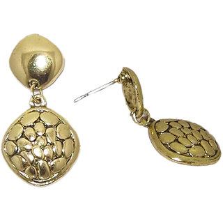 5ca779e62 The99Jewel by JewelMaze Zinc Alloy Gold Plated Golden Stud Earrings-FAC0264