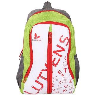 Lutyens Multicolor Zip Closure,Back Padding  Backpack