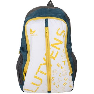 Lutyens Polyester 20Litres Multicolor School Bag