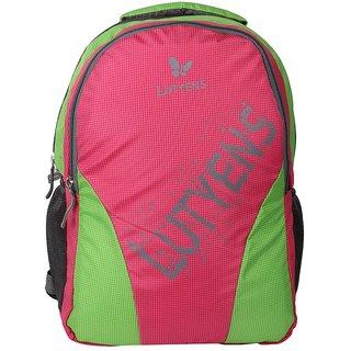 Lutyens Pink Green School Bags (Lutyens_159)