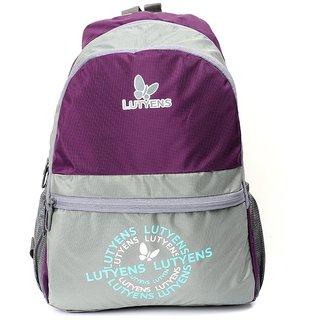 Lutyens Purple Grey School Bags (Lutyens_122)
