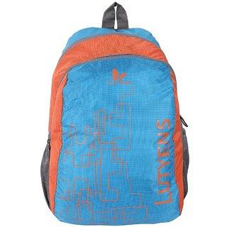 Lutyens Blue Orange School Bags (Lutyens_108)