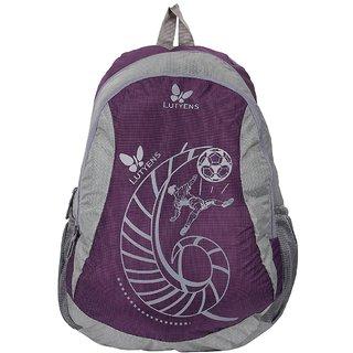 Lutyens Purple Grey School Bags (Lutyens_101)