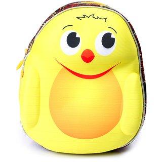 Lutyens Unisex Yellow Red School Bag
