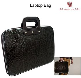 The Datashell Laptop Briefcase has a hard shell
