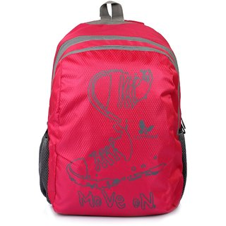 89f07dcef0 Lutyens Polyester Red Black School Bags (17 Liters - Small Bag)  (Lutyens 234)