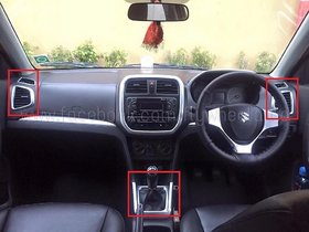Chrome Interior Moulding Kit For vitara breeza