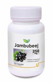 Biotrex Jambubeej Dietary Supplement - 250mg Reduces Sugar Level In Blood A