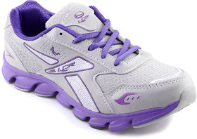 Lancer Women's Purple & Gray Sports Shoes