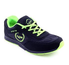 Lancer Women's Blue & Green Sports Shoes
