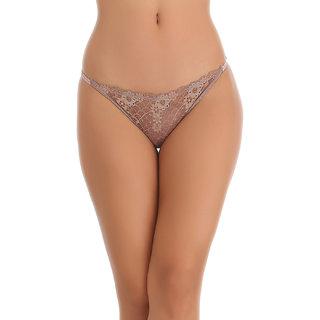 Clovia Brown Solid Bikini