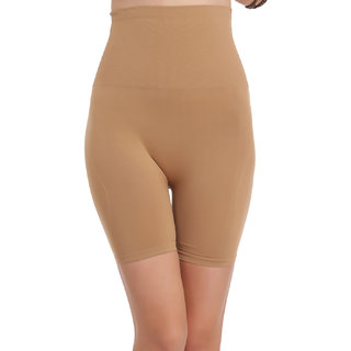 Clovia 4-In-1 Shaper - Tummy, Back, Thighs, Hips - Nude