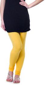 Femza Yellow Woolen Leggings