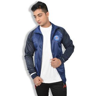 Imported Dark Blue PSG Sports Track Jacket