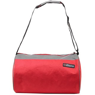 Durable Red Grey Color Duffle Bag (Large 41cc6800624ed