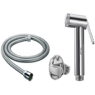 Snowbell Jaquar Sleek Health Faucet With 1 Meter Flexible Tube And Wall Hook