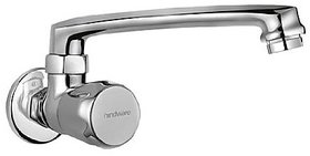Hindware Classik Sink Cock With Swivel Casted Spout (Wall Mounted Model)