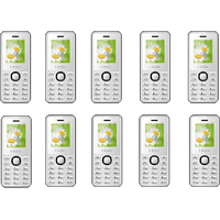 Combo Of 10 , K66 I Kall Dual Sim Multimedia Mobile Phone With FM Bluetooth