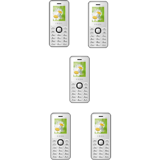 Combo Of 5 , K66 I Kall Dual Sim Multimedia Mobile Phone With FM Bluetooth