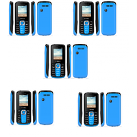 Combo Of 5 , K99 I Kall Dual Sim Multimedia Mobile Phone With FM Bluetooth