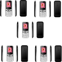 Combo Of 5 , K14 I Kall Dual Sim Multimedia Mobile Phone With FM Bluetooth