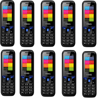 Combo Of 10 , K16 I Kall Dual Sim Multimedia Mobile Phone With FM Bluetooth