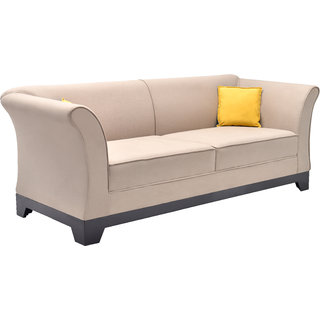 elite three+one+one seater (lenin fabric grey colour)