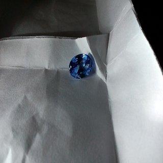 4.05 Carat VVS Clean Blue Sapphire