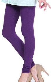 Femza Violet Woolen Leggings