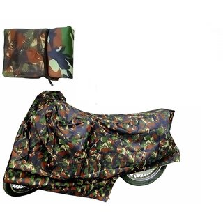 Autoplus Bike Body Cover for Hero Splendor + (Junglegreen)